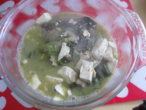 Fish Head Toufu Soup-after