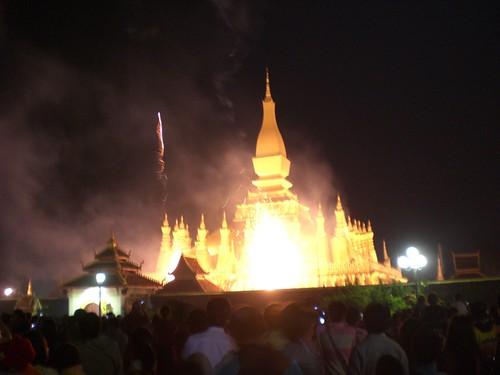 Thatluang Festival 2009-Vientiane