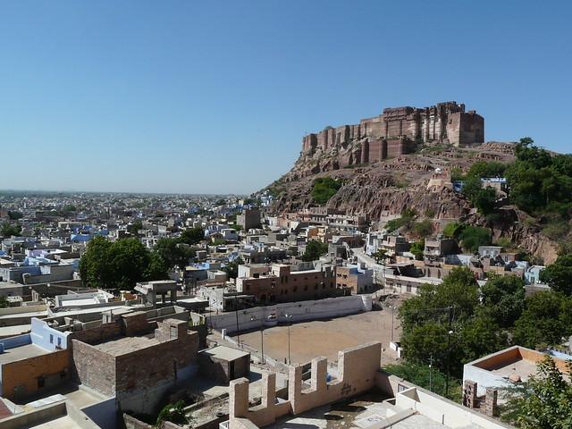 Mehrangarh Fort and Jodhour city