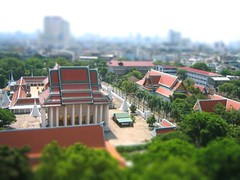 Tilt Shift Temple