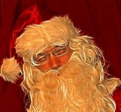Fractal Santa Claus