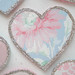 Blue Vintage Wallpaper Heart