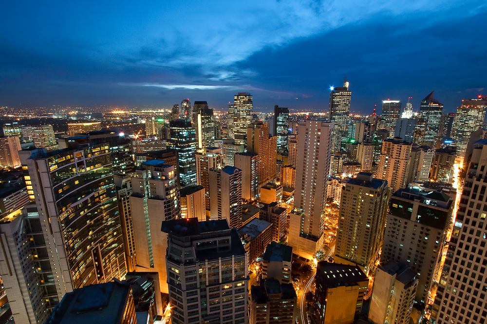 Philippines The Beautiful Metro Manila Skyline Skyscrapercity