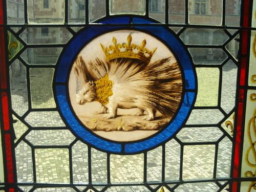 2008.08.07.142 - BLOIS - Château de Blois - Salle des États - Blasonnement de Louis XII