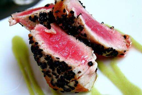 Pan Seared Tuna 8-4-09 -- IMG_4347