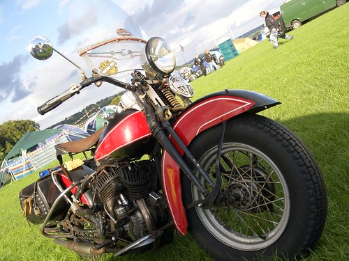 Harley-Davidson Motorbikes - 1950