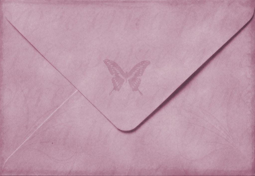 * Butterfly Envelope *