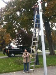 outdoor play equipment(0.0), mast(0.0), playground(0.0), ladder(1.0),
