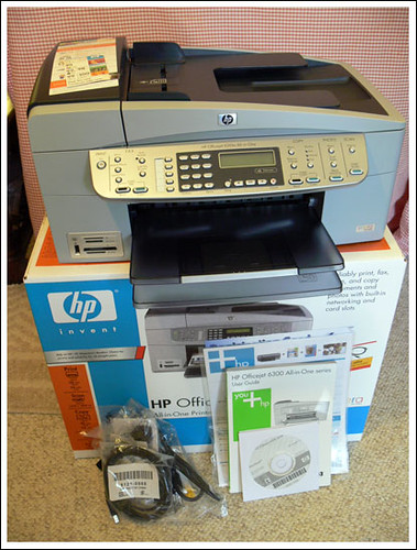 HP Officejet 6310xi All-in-One Printer Scanner Fax Copier with box US$ ...