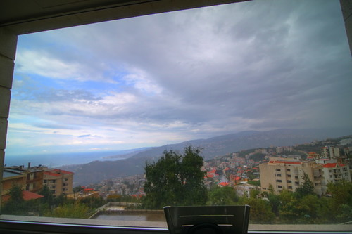 sea lebanon mountains cafe mediterranean view beirut hdr լիբանան պէյրութ բէյրութ