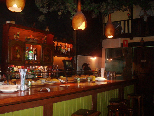 The Bar inside Bosc de les fades