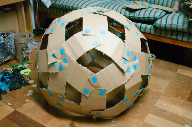 20-faces Polyhedron 2|20面体ベースのドーム