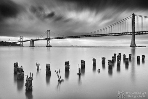 """The Bay Bridge At Dawn"" - Create With Light Photography ©"