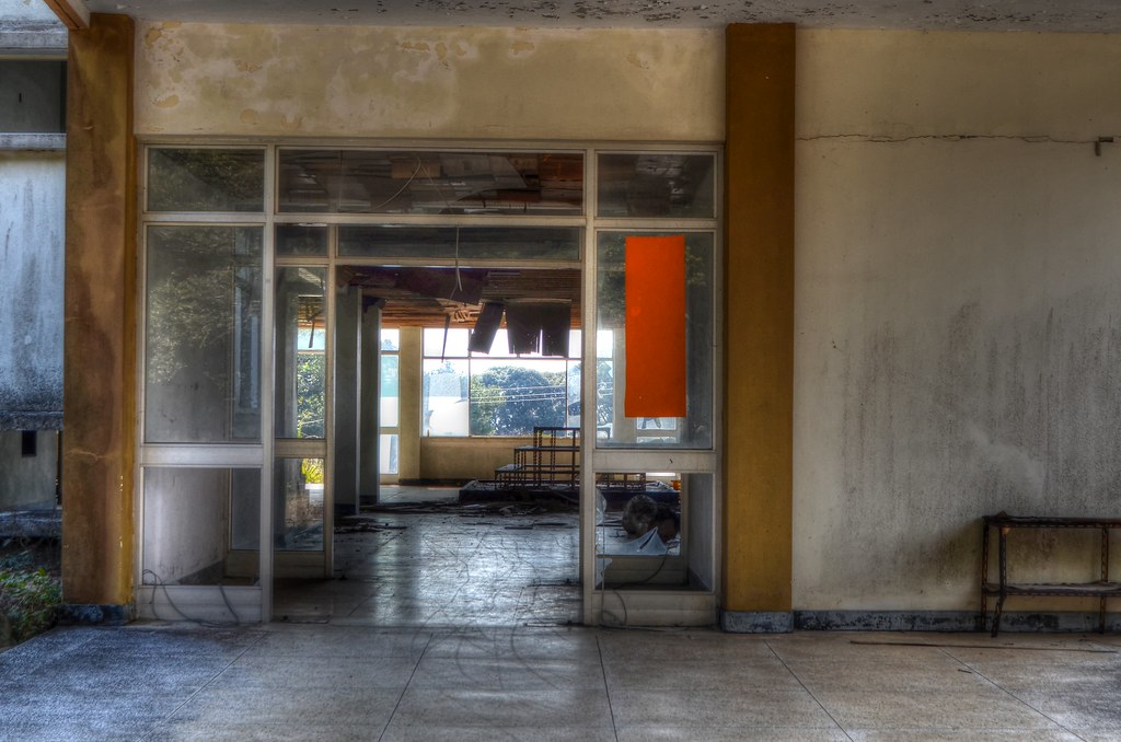 Abandoned School, Jeju, South Korea13