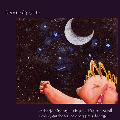 dentro da noite - arte de ninnani - Glaucus Noia - xícara estúdio - Brasil - 無料写真検索fotoq