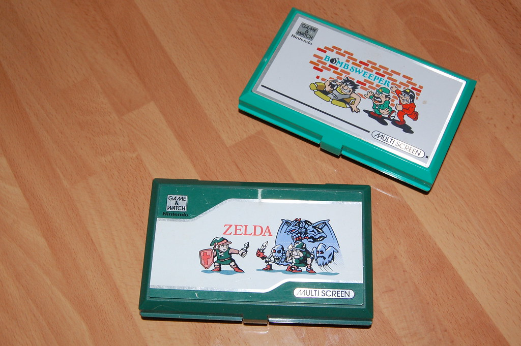 Zelda y Bomb Sweeper (cerradas)