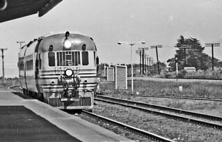 Railcar, Feilding, Manawatu, New Zealand, 1974