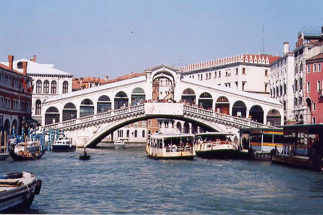 Rialto Bridge,Venice, Italy