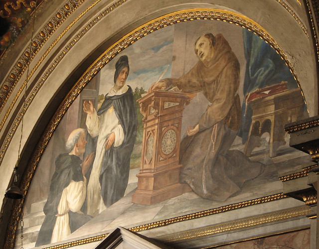 Facebook Is Great For Sharing Pictures >> St Bonaventure with St Thomas Aquinas | Flickr - Photo Sharing!