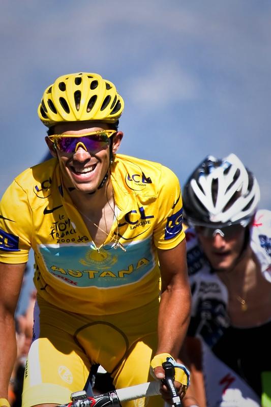 Alberto Contador, Franck Schleck