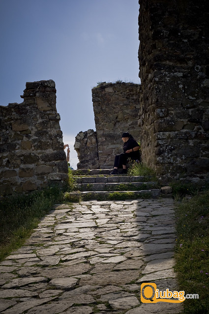 Ruiny kościoła w Gruzji