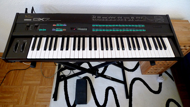 Selling my Yamaha DX7