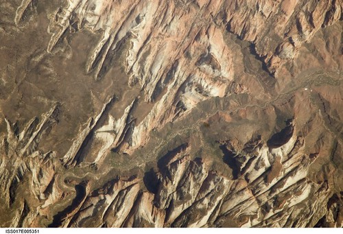 utah nasa zionnationalpark internationalspacestation stationscience crewearthobservation