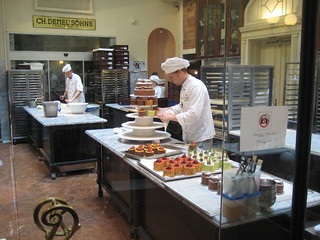Baking at Demel Konditorei