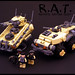 R.A.T. - Remote Armor Team by Legohaulic
