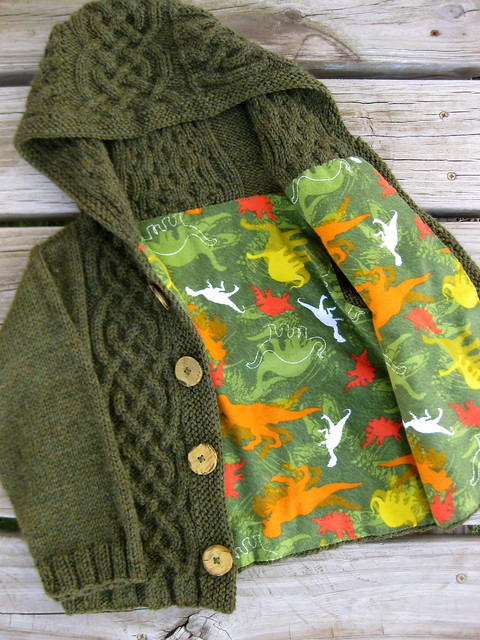 Hunter's Hooded Cardigan