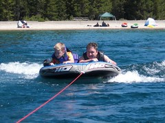 tubing, sports, sea, boating, watercraft,