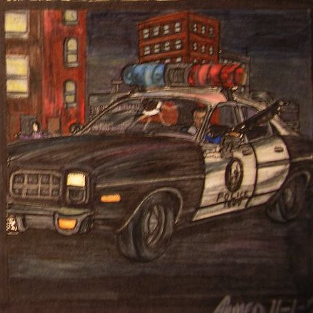 LAPD 1977 Dodge Monaco