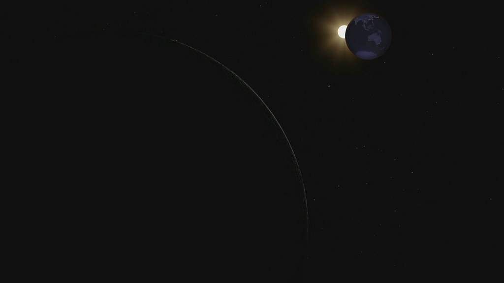 Eclipse as Viewed From the Moon [HD Video]