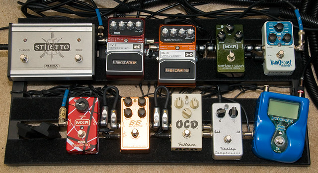 Photo:My Pedalboard (Revised) By ArtBrom