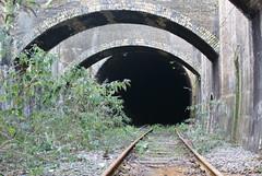 Silvertown railway tunnel.