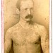 Tattooed Man, Frank Ormand ~cdv by Lauren Peppiatt