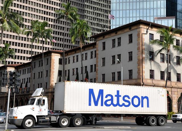 Dillingham transportation building matson container downtown honolulu flickr photo sharing - Matson container homes ...