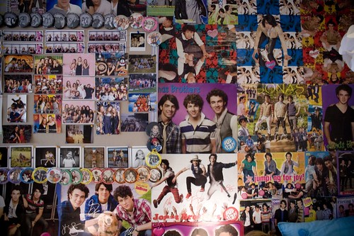 Jonas Brothers Wall