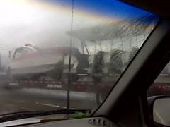 Disney Tram on the 91 freeway