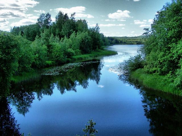 Finnish landscape   Flickr - Photo Sharing!