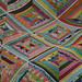 Kaleidoscope - a colorful string quilt by filminthefridge