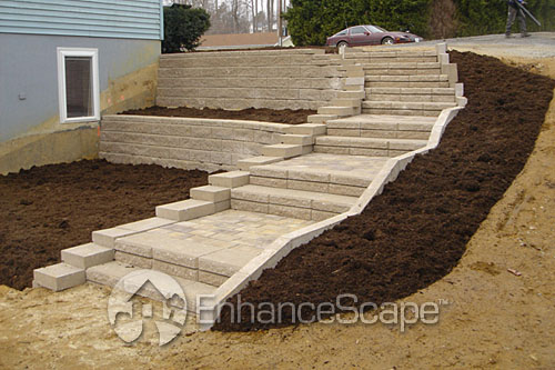 Outdoor stair ideas a photo on flickriver for Outdoor steps ideas
