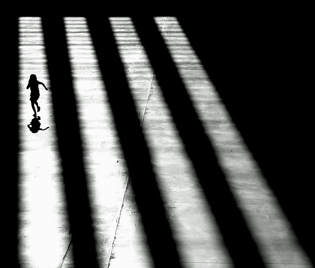 To a Better Place - Great Examples of Shadows in Street Photography
