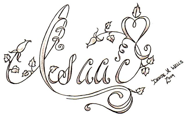 name design tattoos for girls. Tattoo Designs by Denise A. Wells