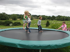 trampolining--equipment and supplies, play, leisure, trampoline, trampolining,