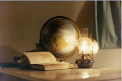 lamp, sphere, still life, globe, lighting,