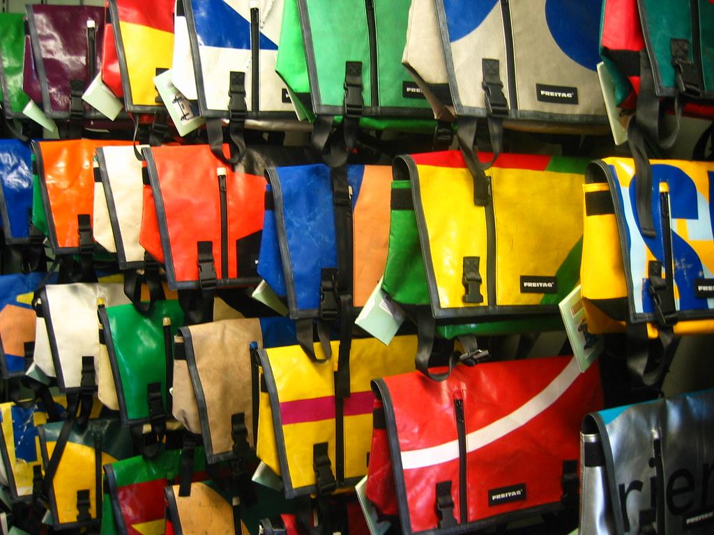 wall 'o freitag bags