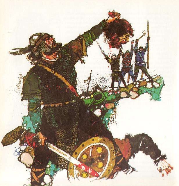 Macduff Macbeth Foil Macduff With Macbeth s Head