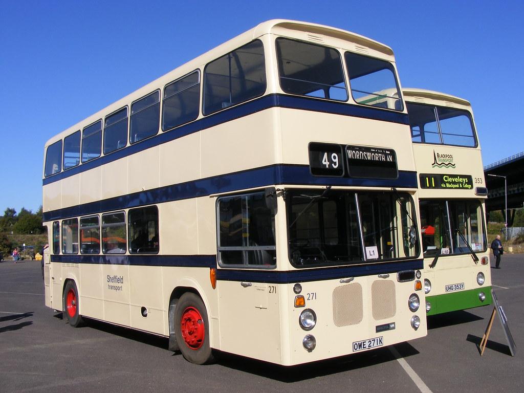 Bristol VRTSL6LX East Lancs 271 OWE271K South Yorkshire Transport Rally 2009