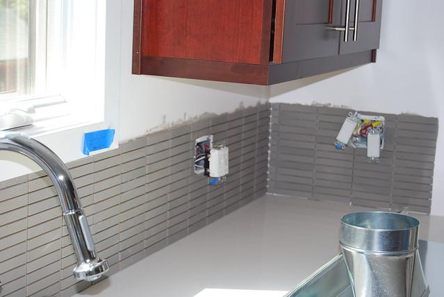 sink counter backsplash no grout flickr photo sharing
